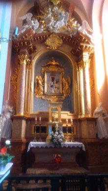 Przecudny Ołtarz Najświętszej Panny w Miechowie