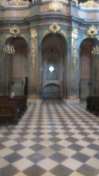 stare organy w Bazylice Grobu Pańskiego