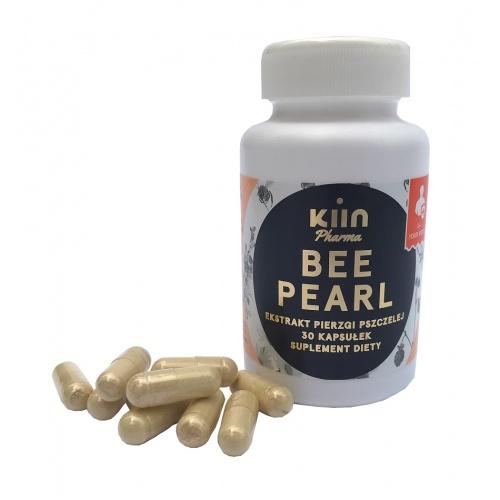 bee pearl, pierzga w kapsułkch, ekstrakt bez chemii bee pearl, pierzga pszczela