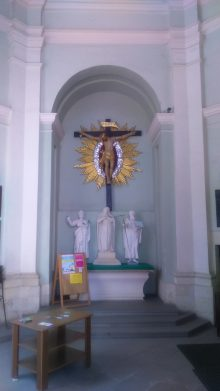 przedsionek Bazyliki w Miechowie
