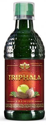 triphala sok bez chemii, triphala sok z owocami Amla, ogrest indyjski sok